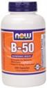 Picture of NOW Vitamin B-50 Caps - 250 Caps